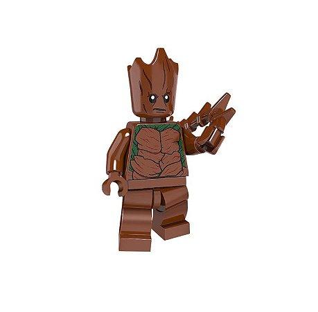 Mini Figura Compatível Lego Groot - Marvel