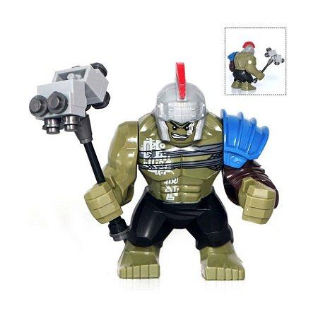 Big Figura Compatível Lego Hulk (Edição Especial Thor Ragnarok) - Marvel