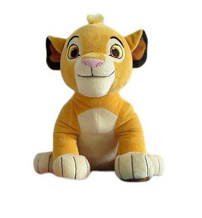 Pelúcia Simba 26 Cm - Disney Rei Leão