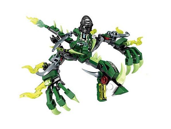 Dragão Fantasma Ninjago Compatível Lego (136 peças)