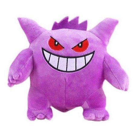 Pelúcia Gengar Pokémon 18 Cm