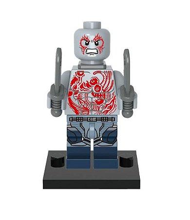 Mini Figura Compatível Lego Drax - Marvel