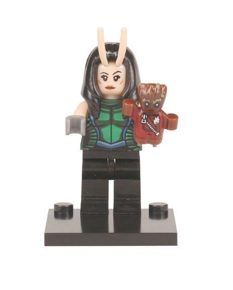 Boneco Mantis e Baby Groot Lego Compatível - Guardiões da Galáxia (Edição Especial)