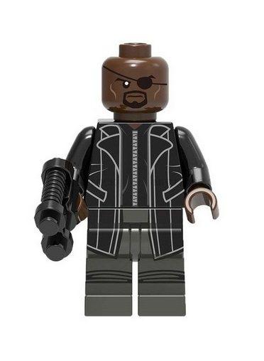 Boneco Nick Fury Lego Compatível - Marvel