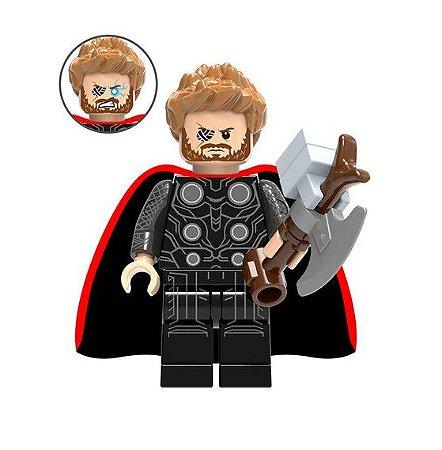 Boneco Thor e Stormbreaker Lego Compatível - Marvel (Edição Deluxe)