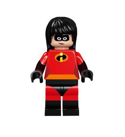 Boneco Violeta Os Incríveis Lego Compatível