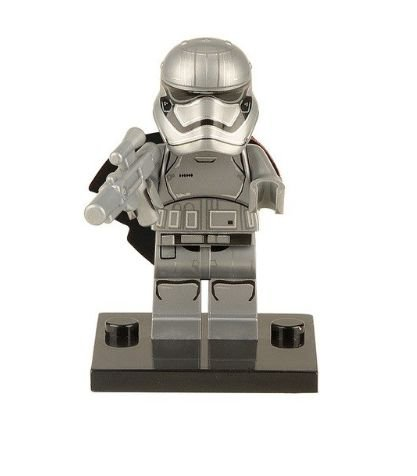 Boneco Capitã Phasma Star Wars Lego Compatível