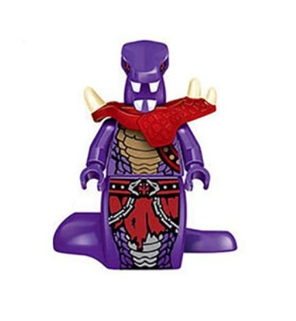 Boneco Compatível Lego Chop'rai Guerreiro Anacondrai - Ninjago (Edição Especial)