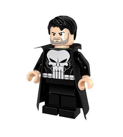 Boneco Justiceiro Lego Compatível - Marvel