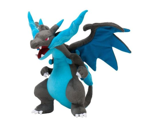 Pelúcia Mega Charizard X 25 Cm - Pokémon Center