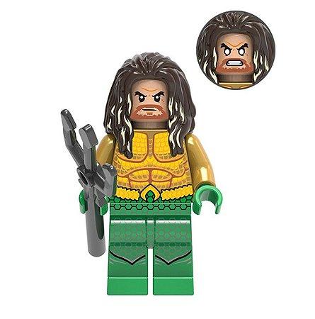Boneco Aquaman Lego Compatível - Dc Comics (Edição Especial)