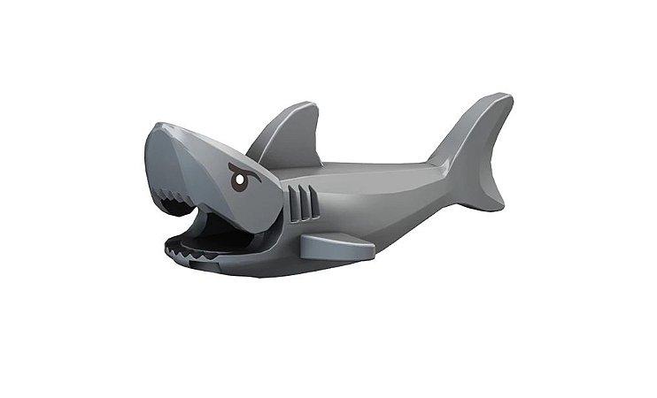 Mini Figura Compatível Lego Tubarão