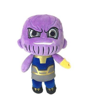 Pelúcia Thanos Vingadores Guerra Infinita 24 Cm