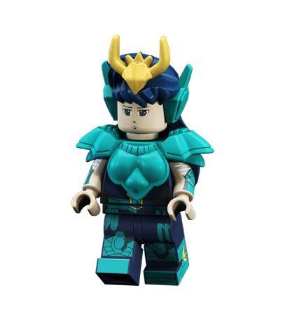 Boneco Compatível Lego Shiryu - Cavaleiros do Zodíaco (Edição Especial)