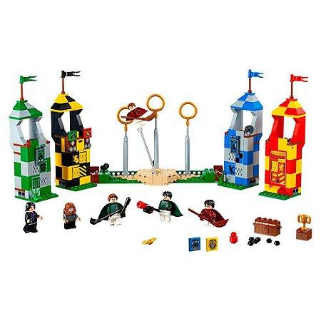 Set compatível LEGO Harry Potter Jogo De Quadribol 536 pçs