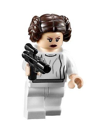 Boneco Leia Star Wars Lego Compatível