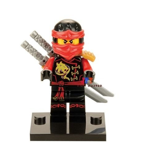 Boneco Kai Ninjago Lego Compatível