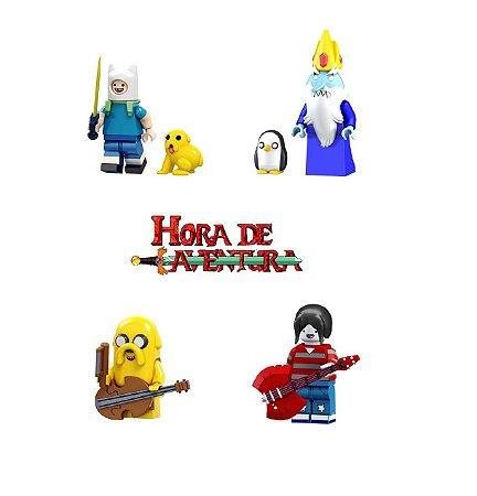 Kit Hora de Aventura LEGO Compatível (c/ 4)