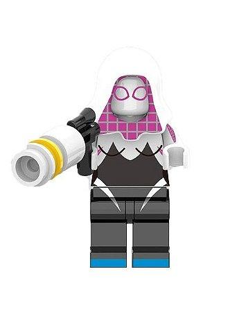 Boneco Gwen Stacy Lego Compatível - Marvel (Spider-Gwen)