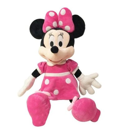 Pelúcia Minnie 38 Cm - Disney