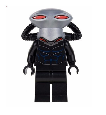 Boneco Manta Negra Lego Compatível - Linha Aquaman Dc Comics