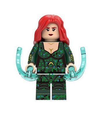 Boneco Mera Lego Compatível - Linha Aquaman Dc Comics