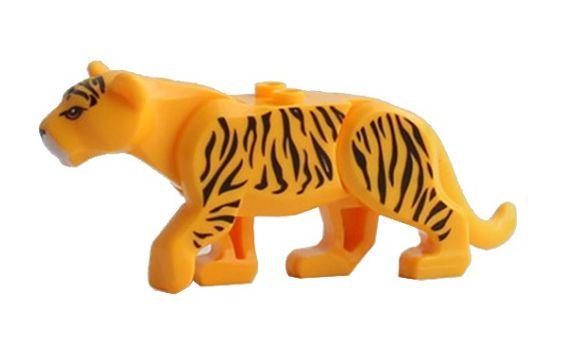 Boneco Compatível Lego Leopardo - Animais