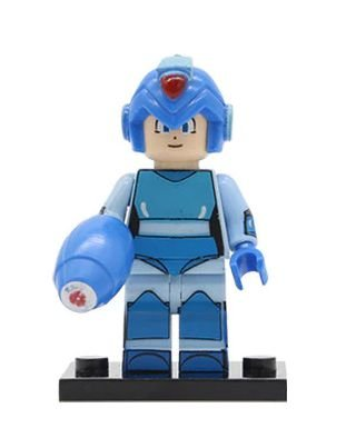Boneco Megaman Lego Compatível (Edição Especial)