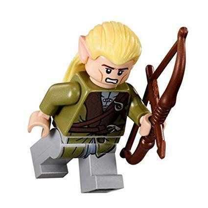 Boneco Legolas Lego Compatível - Senhor dos Anéis
