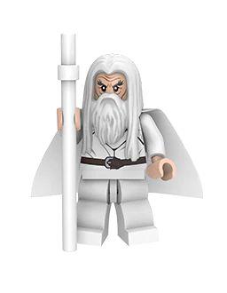 Boneco Saruman Lego Compatível - Senhor dos Anéis