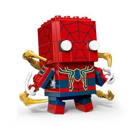 Brickheadz Homem-Aranha - Cute Doll 80 pçs (Lego Compatível)