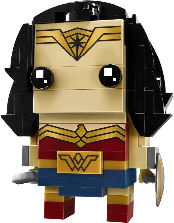 Brickheadz Mulher Maravilha - Cute Doll 143 pçs (Lego Compatível)