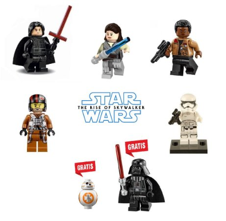 Kit Star Wars IX Lego Compatível - Leve 7 Pague 5