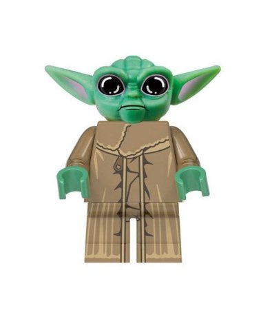 Boneco Baby Yoda Star Wars Lego Compatível - O Mandaloriano