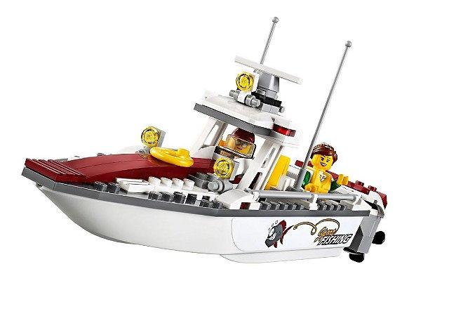 Set compatível Lego Barco de Pesca (Fishing Boat) (159 Pçs)