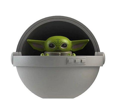 Boneco Baby Yoda no Berço Star Wars Lego Compatível - O Mandaloriano (Edição Especial)