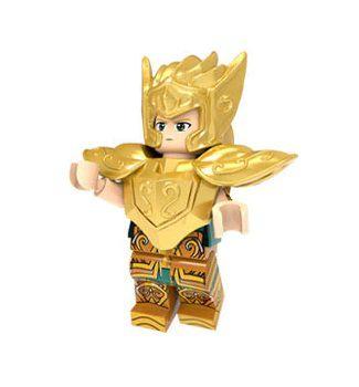 Boneco Compatível Lego Camus de Aquário - Cavaleiros do Zodíaco (Edição Especial)