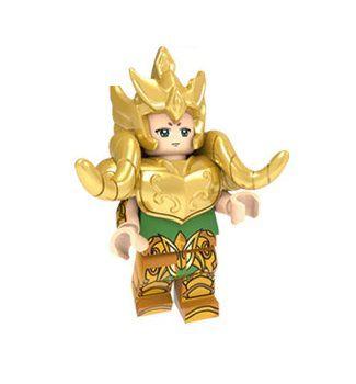 Boneco Compatível Lego Mu de Áries - Cavaleiros do Zodíaco (Edição Especial)