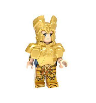 Boneco Compatível Lego Saga de Gêmeos - Cavaleiros do Zodíaco (Edição Especial)