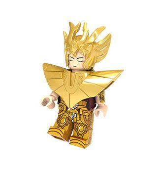 Boneco Compatível Lego Shaka de Virgem - Cavaleiros do Zodíaco (Edição Especial)