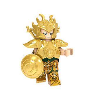 Boneco Compatível Lego Dohko de Libra - Cavaleiros do Zodíaco (Edição Especial)