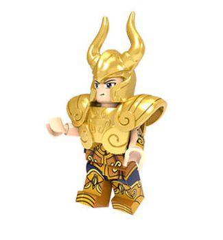 Boneco Compatível Lego Shura de Capricórnio - Cavaleiros do Zodíaco (Edição Especial)