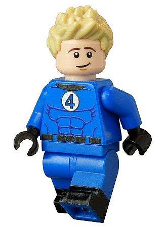 Boneco Tocha Humana Lego Compatível - Marvel
