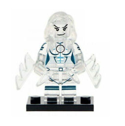 Boneco Mulher Invisível versão transparente Lego Compatível - Marvel (Edição Especial)