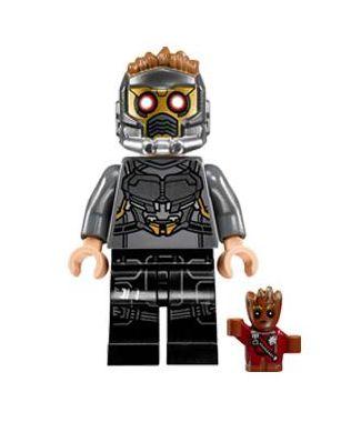 Boneco Senhor das Estrelas (Star Lord) Lego Compatível - Guardiões da Galáxia (Edição Especial)