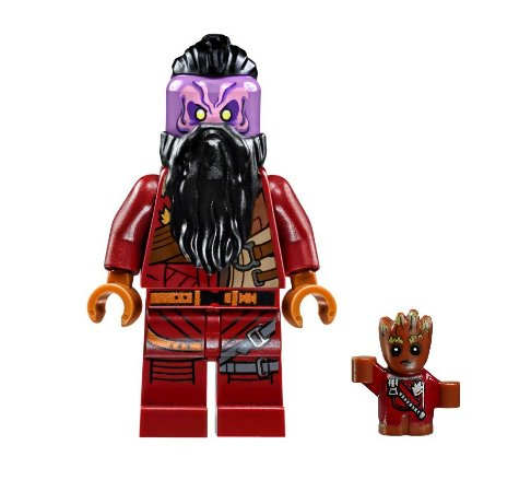 Boneco TaserFace Lego Compatível - Guardiões da Galáxia (Edição Especial)