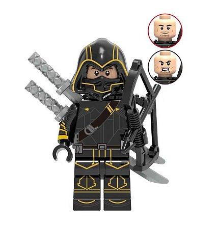 Boneco Gavião Arqueiro Ronin Lego Compatível - Marvel (Edição Deluxe)