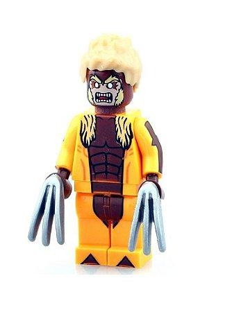 Boneco Dente de Sabre Lego Compatível - Marvel X-men
