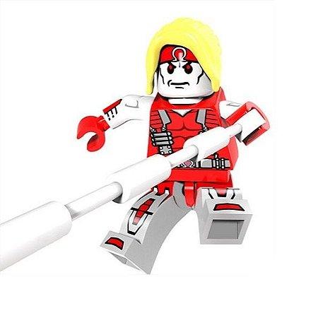 Boneco Ômega Red Lego Compatível - Marvel X-Men (Edição Especial)