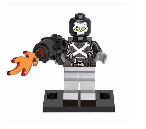 Boneco Ossos Cruzados Lego Compatível - Marvel